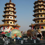 Dragon and Tiger Pagodas