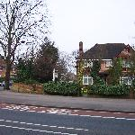 Casa Villa and Banbury Rd., north Oxford England