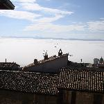 View from the living room---above the clouds!