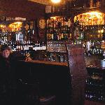 One of the 2 vintage bars in Crotty's pub