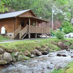 Lands Creek Log Cabins Foto