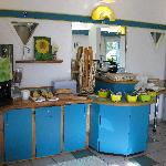 Part of the pleasant breakfast buffet, Etap Hotel, Berck-sur-Mer, May, 2009