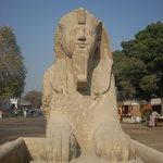 Alabaster Sphinx
