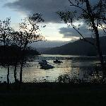 Night Fall Over Loch Earn