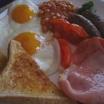 Our cooked breakfast