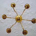  chandelier in my room!