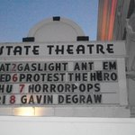 The State Theatre Marquee