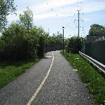 The Bike Path to the Metro