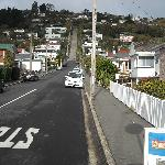 World's steepest street - try walking it!