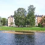 Lake in the Uppsala Agricultural University