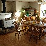 Country Kitchen Dining Area