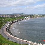  The seafront in Scarborough