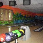 one of the bowling tracks