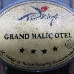 Hotel Name Plate