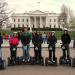 Segways at the White House