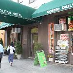 Cosmopolitan Hotel (Broadway entrance)