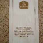  &quot;Guest&quot; Towel