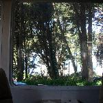 Sounds of the Sea RV Park - the ocean view from inside our RV