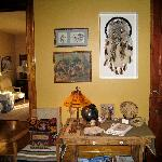 Beau Fleuve B&B - Native American Common Area