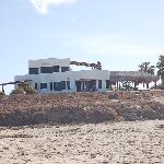 Osprey Inn from beach