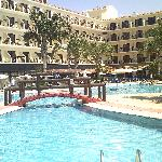  view of the hotel pool