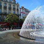 Tarbes central square