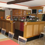  The bar near the breakfast area