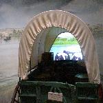 See and feel what it was like to cross the North Platte River in a pioneer wagon.
