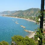The coastline at Capo d'Orlando