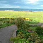 Balcomie Links Golf Course on the coast