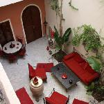 Riad 34. Patio