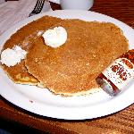 Kid's Pancakes at Cracker Barrel