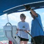 Captain Miel Providing Sailing Instructions