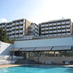  back of hotel and pool