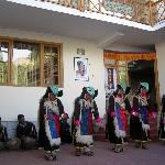 Ladakhi women performing regional dance