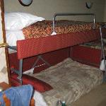 Bunk Beds with a twin bed behind
