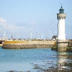 Port Haliguen, a good place to walk to, where you can enjoy a crepe, and a break from the wester