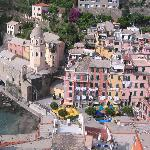 Vernazza village from above