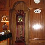 Hotel Lobby - Grandfather Clock Beside Reception