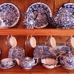 Carmel's china collection