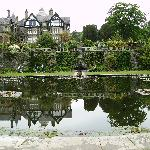 Bodnant gardens, just up the Conway valley