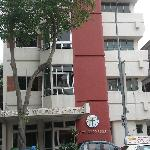 The hostel building