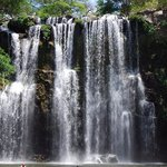Llanos de Cortez Waterfall
