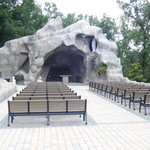 Lourdes Grotto replica (very nice)