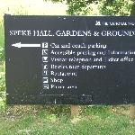 Speke Hall information sign