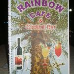 Rainbow Bar - Menükarte