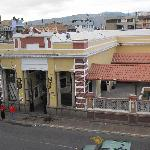 Train Station across from hotel El Libertador