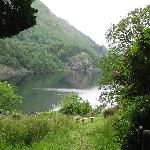 Lake views from next to the hostel, Bryn Gwynant hostel, June, 2009