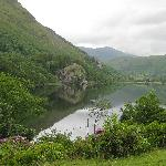 Lake views from the hostel grounds, Bryn Gwynant hostel, June, 2009
