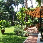 View of the Gardens at Hotel Andreaneri